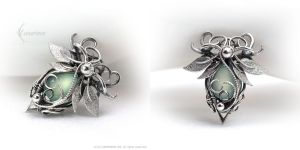 DAQURIAL - Silver and Chalcedony by LUNARIEEN