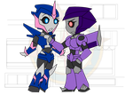 Chibi Chain - Slimed - Deceptive Colors by Dragon-FangX