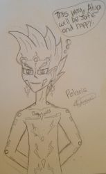 This Way Alya will be Safe - Polaris Sketch by rissy20