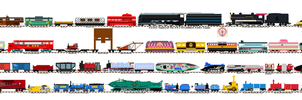 Rejected Thomas Characters 10 by Ultraloco