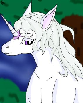 The Last Unicorn by FireballStardraco