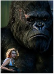 King Kong Detail - by DanLuVisiArt