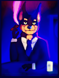 Lone Digger by Articoz