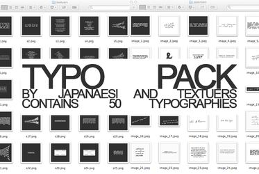 Colab Typo Pack by japanaesi