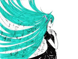 Singing Hatsune by deadmatroshka