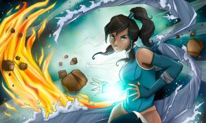 The Legend of Korra by pirouchan