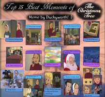 Top 15 Best Moments of The Christmas Tree by Duckyworth