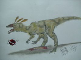 JP-Expanded  Sinocalliopteryx by Teratophoneus
