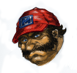 Mario Study by Hologramzx