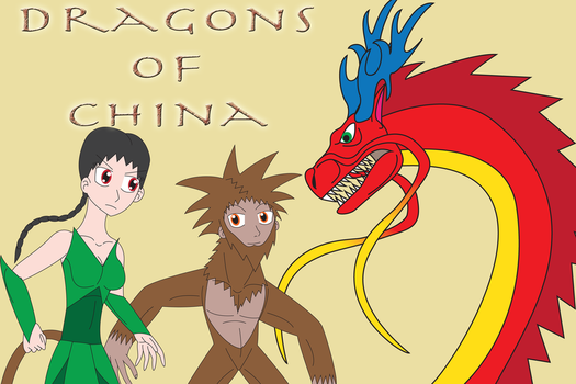 The Dragons of China by Daizua123