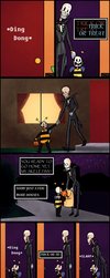 SkeleChara Page 10 (Halloween) by InsanelyADD