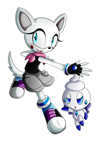 :CP: Starkle and Chaonillite by pokefubuki