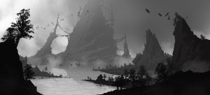 Mist and Castles by SenseiGrove