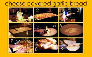 Cheese Garlic Bread Recipe by SatsukiHayashi