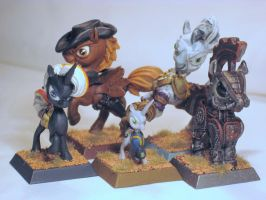 Table-Top Miniatures: Fallout Equestria by NPCtendo