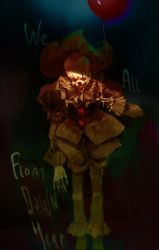 Pennywise the dancing clown by SvetoslavPetrov