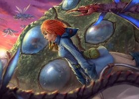 Nausicaa fan art by plutus0519