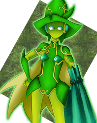 Lime Bell by daijoubus