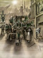 Dark angels march by HrvojeSilic