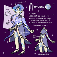 Mia [MOONSTONE GEMSONA] by Deersysse