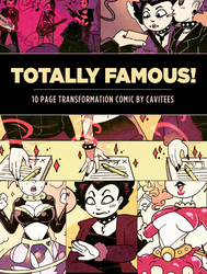 Totally Famous! - Free 10 page minicomic by Cavitees
