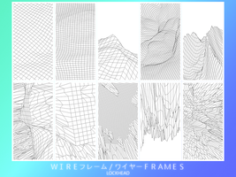 Lost and Found: 1st wireframe pack by L-O-C-K-H-E-A-D
