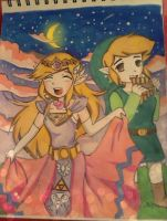 Zelink into the nigt by northernlightsky