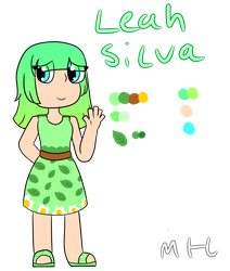 Leah Silva redeign by OctoWeeb