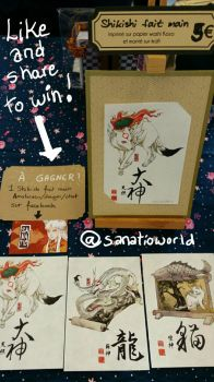 Japan Expo and Facebook Giveaway by Sanatio