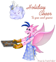 Making Holiday Cheer by RoseSagae