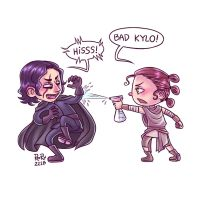 Star Wars - Bad Kylo! by Rory221B