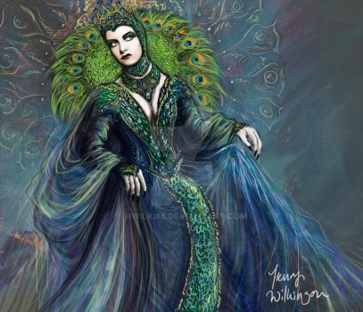 Peacock Queen by hwilki65