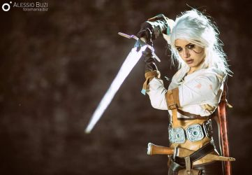 Ciri - Fight! by FuinurCroft
