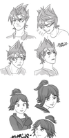 Disney Ninjago by witch-girl-pilar