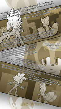 Sonic: Forces of the Maniacs #29 by Zack113