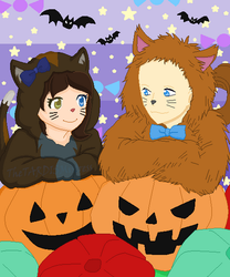 Open Collab: Halloween Kitties (OPEN FOREVER) by TheTARDISMistress