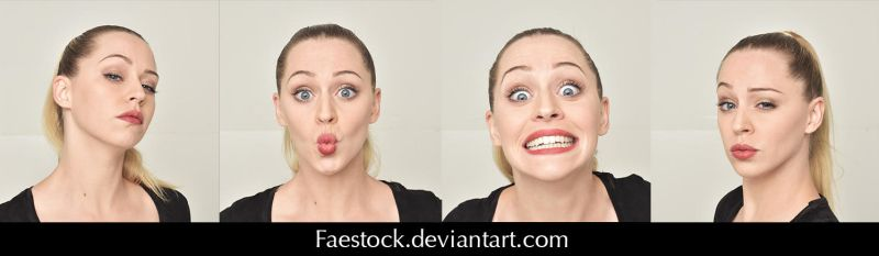 Expressions - Stock pack 7 by faestock
