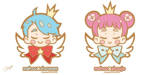 Mahou Mascots by Channel-Square