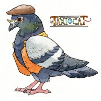 Pigeon by owlburrow