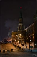 Moscow - the two gates by RaumKraehe