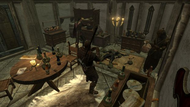 Party at the Dovahkiin. Part7. Drunken Like a Boss by totalfreak2002