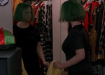 Ghost World Grr Green Hair Gif by fornoraisin