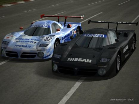 Nissan R390 GT1 by GamePonySly