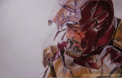 Tony Stark Iron Man 3 by im-sorry-thx-all-bye