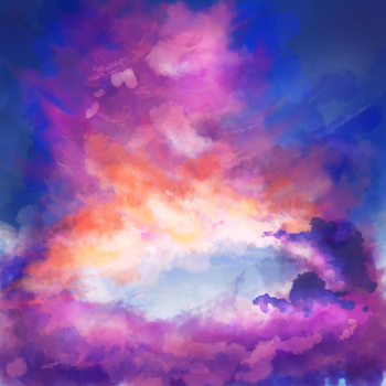 Sunset Clouds by Arotha