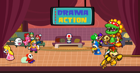 Toadal Drama Action by RobloxandMario