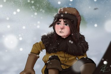 Ronja Robber's Daughter by Nequarilj