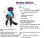 Snake Glitch (ref) ((mlp oc)) by oceanepelchat
