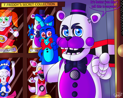 It's Our Little Secret. by FNaF2FAN