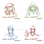 Welcome to the Team Sketches